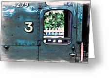 Train 4279 Greeting Card