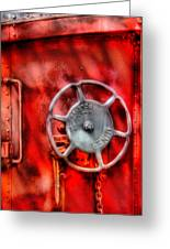 Train - Car - The Wheel Greeting Card