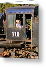 Train Conductor Greeting Card