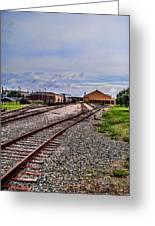Train Depot Greeting Card