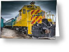 Santa Fe Southern Railway Engine Greeting Card