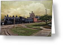 Train - Engine Greeting Card