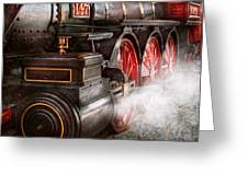 Train - Let Off Some Steam  Greeting Card