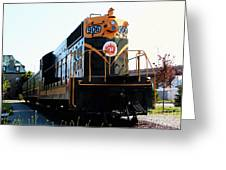 Train Museum - End Of The Line - Canadian National Railway Greeting Card