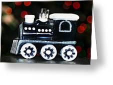 Train Ornament Greeting Card