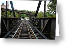 Train Pov Greeting Card