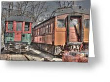 Train Series 4 Greeting Card