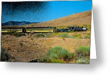 Train-sitions Greeting Card