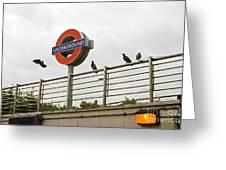 Train Spotting Greeting Card