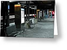 Train Station 2 Greeting Card
