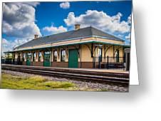 Train Station Greeting Card