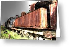 Train To No-where. Greeting Card