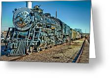 Train Travel Greeting Card