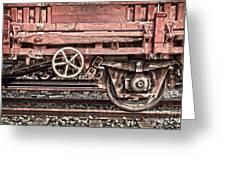 Train Wagon Greeting Card