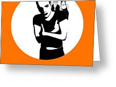 Trainspotting Poster 2 Greeting Card by Naxart Studio