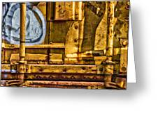 Trainworks.83735 Greeting Card by Gary LaComa