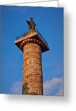 Trajans Column Greeting Card