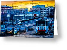 Tramway A Greeting Card