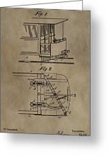 Tramway Fender Patent Greeting Card