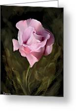 Tranquil Rose Greeting Card