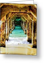 Tranquility Below Greeting Card