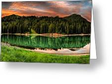 Tranquility Greeting Card by Brett Engle
