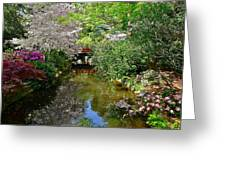 Tranquility Garden Greeting Card
