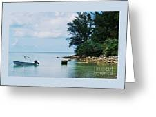 Tranquility In Bermuda Greeting Card