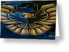 Trans Am Eagle Greeting Card