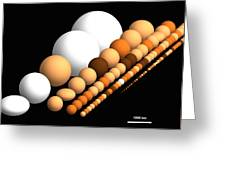 Trans-neptunian Objects Greeting Card