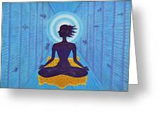 Transcendental Meditation Greeting Card