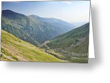 Transfagarasan Greeting Card