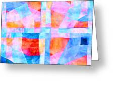 Translucent Quilt Greeting Card