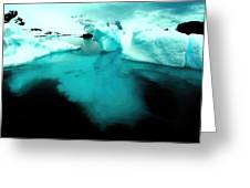 Transparent Iceberg Greeting Card