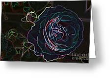Transparent Rose Greeting Card