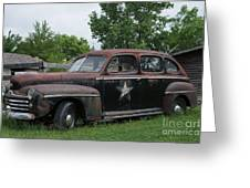 Transportation - Classic - Highway Patrol Greeting Card