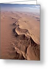 Transverse Sand Dune Namib-naukluft Np Greeting Card