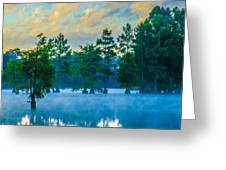 Trap Pond 3 Greeting Card