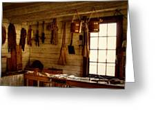 Trapper Supplies At The General Store Greeting Card