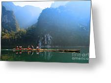 Travel In South Of Thailand Greeting Card