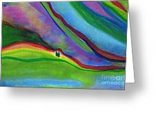 Travelers Foothills By Jrr Greeting Card