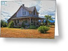 Travelers Hut Greeting Card
