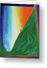 Travelers Rainbow Waterfall By Jrr Greeting Card