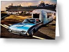 Travelin' In Style Greeting Card