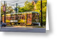 Traveling In New Orleans Greeting Card