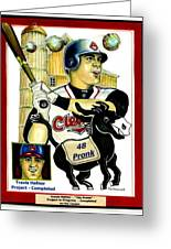 Travis Hafner Grand Slam Greeting Card
