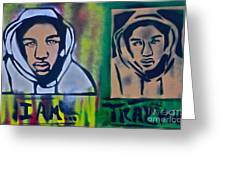 Trayvon Martin Greeting Card