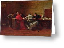 Treason, 1867 Greeting Card