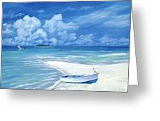 Treasure Cay Greeting Card