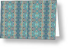 Treasure - Inverted Tile Arrangement Greeting Card